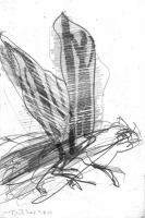 fehlstart 1,2013, Bleistift, 21x14 cm