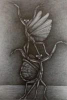 Bestiarium 5,2019, Bleistift,32x22 cm