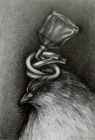 Input, 2020, Bleistift, 32 x 22 cm