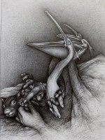 Peace IV, 2020,Bleistift, 58x42 cm
