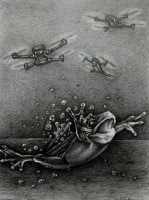 Peace V, 2020, Bleistift,42x30 cm