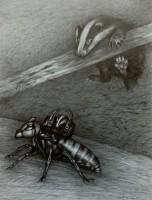 Robbery , 2020, Bleistift, 42x33 cm