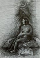 Vairaumati,2013, Bleistift,25x17cm