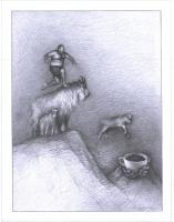 punktlandung,2014,Bleistift,59x44